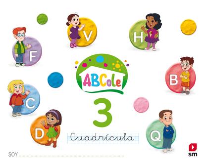 LECTOESCRITURA 3 ABCOLE CUADRÍCULA 18.