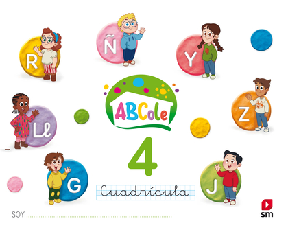 LECTOESCRITURA 4 ABCOLE CUADRÍCULA 18.