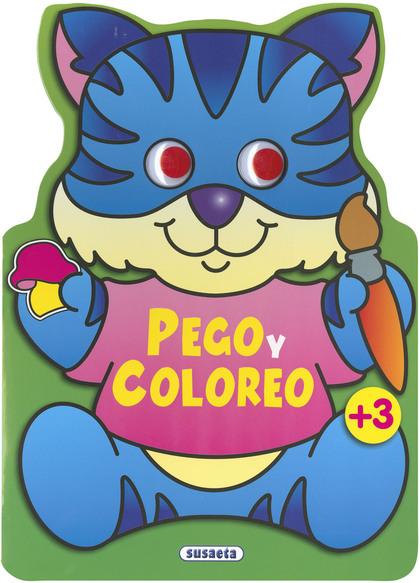 PEGO Y COLOREO ANIMALES 3.