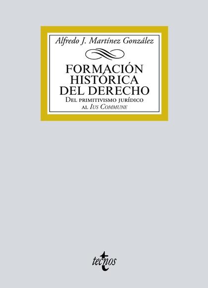 FORMACIÓN HISTÓRICA DEL DERECHO