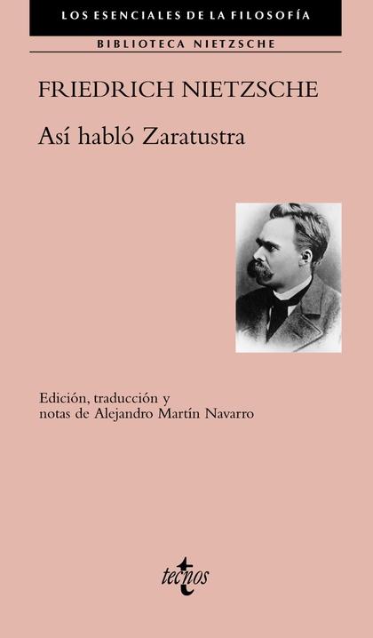 ASÍ HABLÓ ZARATUSTRA.