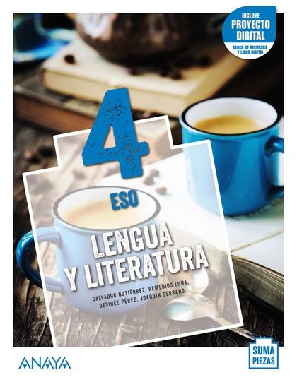 ESO 4  LENGUA Y LITERATURA (AND). + TALLER COMPRENSIÓN ORAL. 2021