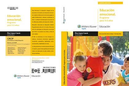 EDUCACIÓN EMOCIONAL, PROGRAMA PARA 3-6 AÑOS
