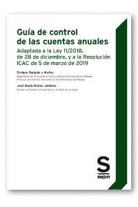 GUIA DE CONTROL DE LAS CUENTAS ANUALES.