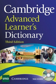 CAMBRIDGE ADVANCED LEARNER´S DICTIONARY UNED (WITH CD-ROM)