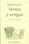 VERSOS Y ORTIGAS. (POESÍA 1973-2008)