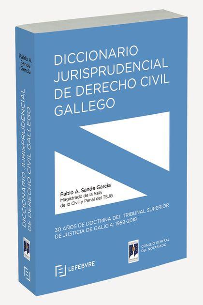 DICCIONARIO JURISPRUD. D. CIVIL GALLEGO+EBOOK.
