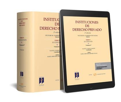 INSTITUCIONES DE DERECHO PRIVADO TOMO V SUCESIONES VOL 4
