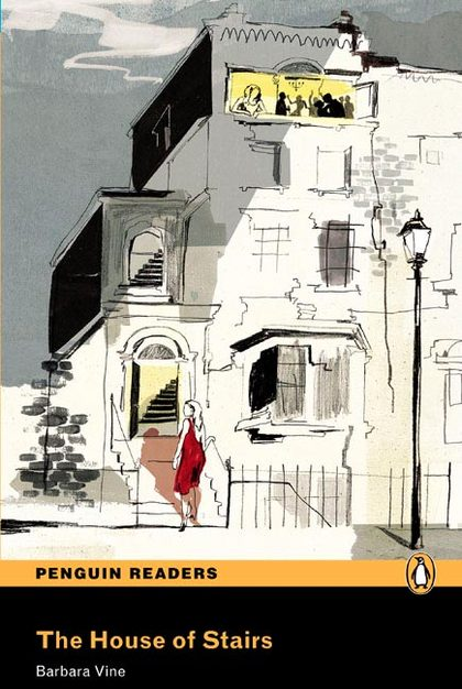 PENGUIN READERS 4: HOUSE OF STAIRS, THE BOOK & CD PACK