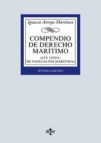 COMPENDIO DE DERECHO MARÍTIMO. (LEY 14/2014, DE NAVEGACIÓN MARÍTIMA)
