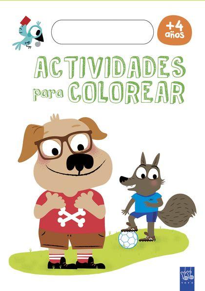 ACTIVIDADES PARA COLOREAR +4.