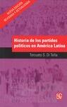 HISTORIA DE LOS PARTIDOS POLÍTICOS EN AMÉRICA LATINA