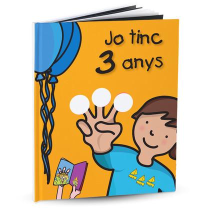 EL MEU ANIVERSARI, JO TINC 3 ANYS