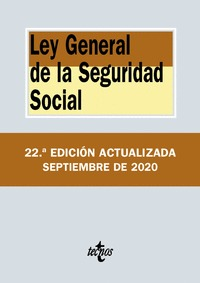 LEY GENERAL DE LA SEGURIDAD SOCIAL.