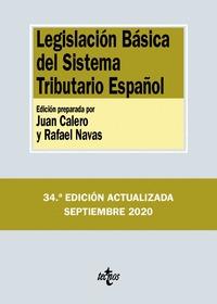 LEGISLACIÓN BÁSICA DEL SISTEMA TRIBUTARIO ESPAÑOL.
