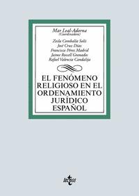 EL FENÓMENO RELIGIOSO EN EL ORDENAMIENTO JURÍDICO ESPAÑOL