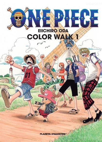 ONE PIECE, COLOR WALK 1