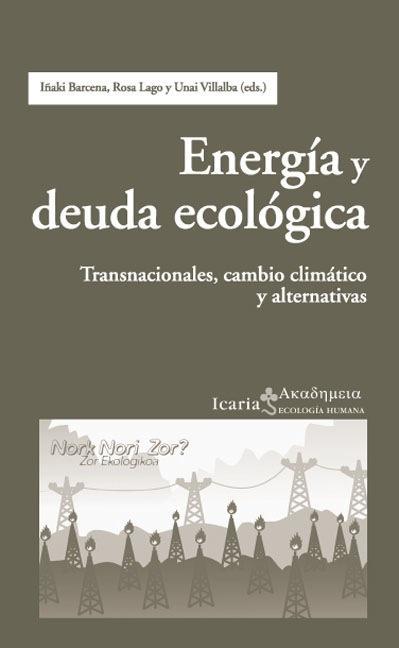 Energia y deuda ecologica