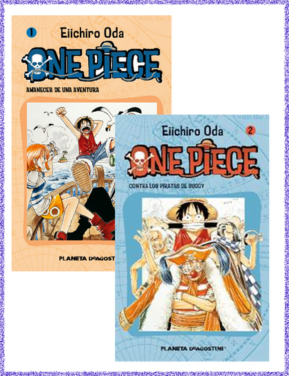 PACK ONE PIECE ESPECIAL N º1 + ONE PIECE Nº 2