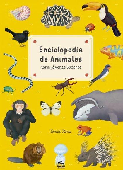 ENCICLOPEDIA DE ANIMALES PARA JÓVENES LECTORES.