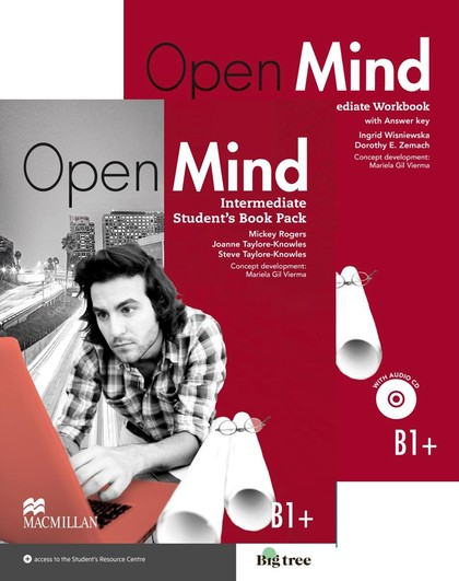 OPEN MIND INT STS & WBK (+KEY) PACK