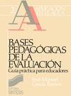 BASES PEDAGÓGICAS DE LA EVALUACIÓN