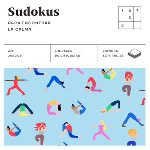 SUDOKUS (CUADRADOS DE DIVERSIÓN) ENCONTRAR CALMA