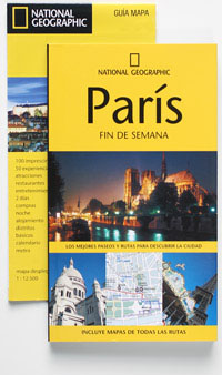 PACK PARIS. GUIA ILUSTRADA + GUIA MAPA