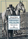 RECUERDOS DE FERNANDO VILLALÓN                                                  POETA DE ANDALU