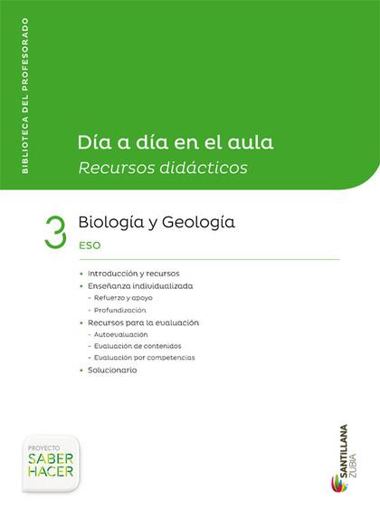DIA A DIA BIOLOGIA Y GEOLOGIA 3ESO CAST/EUSK.