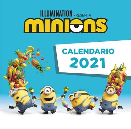 EL CALENDARIO DE LOS MINIONS 2021