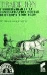 TRADICION Y MODERNIDAD CONFIG.EUROPA N.3 (H.UNIVERSAL CONTEMPORANEA)