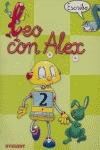 LEO CON ALEX--, ESCRITURA, 2 EDUCACIÓN INFANTIL