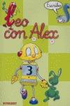 LEO CON ALEX--, ESCRITURA, 3 EDUCACIÓN INFANTIL