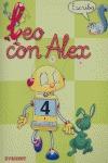 LEO CON ALEX--, ESCRITURA, 4 EDUCACIÓN INFANTIL pauta