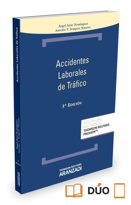 ACCIDENTES LABORALES DE TRÁFICO (PAPEL + E-BOOK).