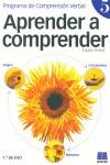 APRENDER A COMPRENDER, 5: PROGRAMA DE COMPRENSIÓN VERBAL