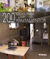 200 IDEAS PARA MINIAPARTAMENTOS.