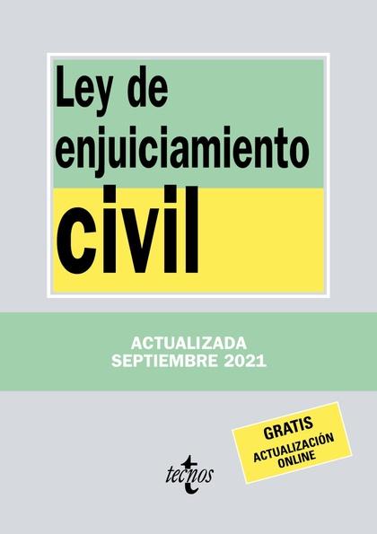 LEY DE ENJUICIAMIENTO CIVIL.