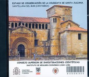 ESTADO DE CONSERVACIÓN DE LA COLEGIATA DE SANTA JULIANA, SANTIALLANA DEL MAR (CANTABRIA)