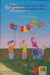 EMOCIÓNATE, PROGRAMA DE DESARROLLO INFANTIL EN COMPETENCIAS EMOCIONALES, EDUCACIÓN PRIMARIA, 2