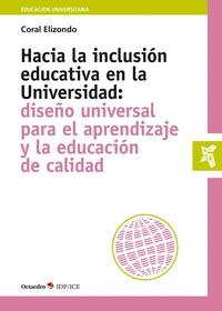 HACIA LA INCLUSIÓN EDUCATIVA EN LA UNIVERSIDAD                                  DISEÑO UNIVERSA