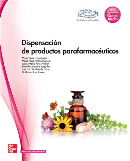 DISPENSACIÓN DE PRODUCTOS PARAFARMACÉUTICOS, GRADO MEDIO