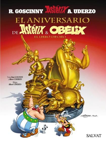 EL ANIVERSARIO DE ASTÉRIX Y OBÉLIX, EL LIBRO DE ORO 34