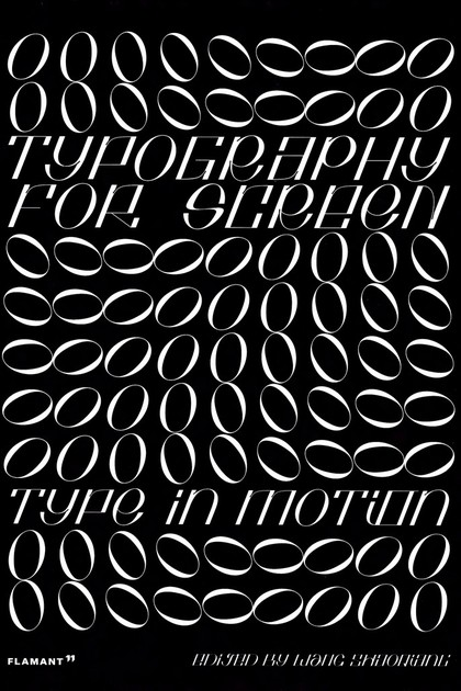 TYPOGRAPHY FOR SCREEN.
