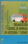 ORGANIZACION CONTROL EMPRESAS HOSTELERIA