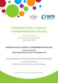 PEDAGOGÍA SOCIAL, JUVENTUD Y TRANSFORMACIONES SOCIALES. CONGRESO INTERNACIONAL XXIX SEMINARIO I