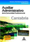TEMARIO AUXILIAR ADMINISTRATIVO DE LA COMUNIDAD DE CANTABRIA
