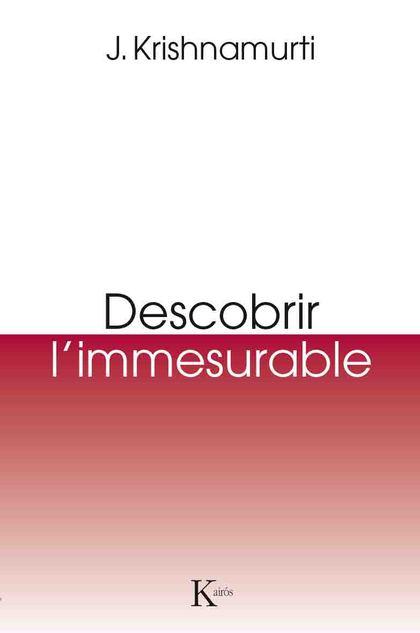 DESCOBRIR L`IMMESURABLE