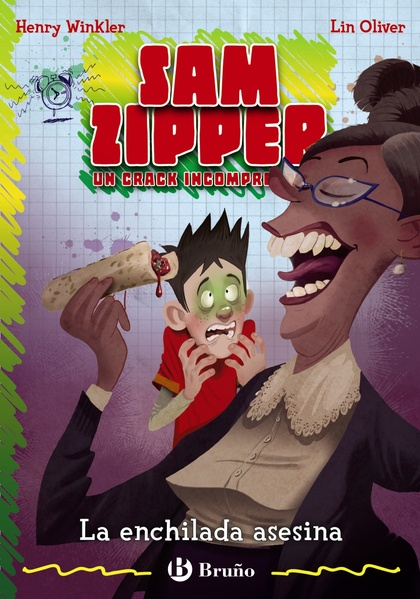 SAM ZIPPER 6. LA ENCHILADA ASESINA